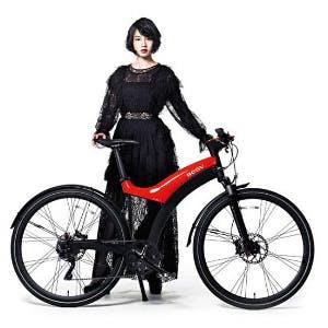 スポーツ自転車に電動アシスト