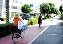 自転車でひき逃げ