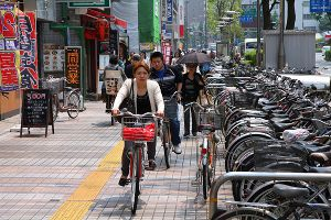 自転車走行