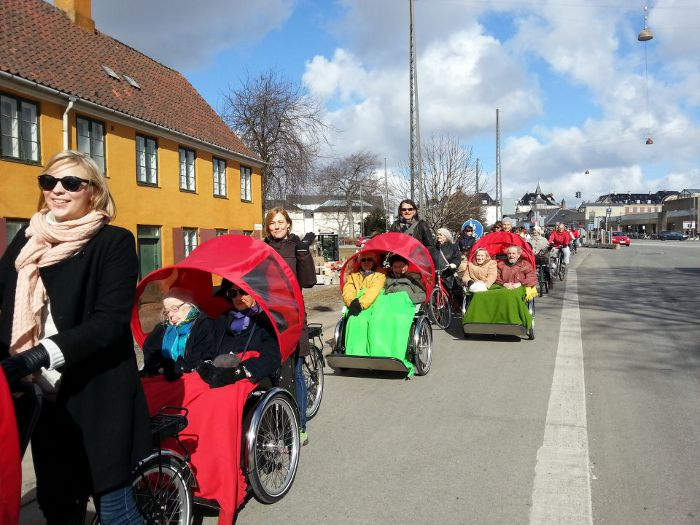 Cykling uden alder, www.facebook.com/cyklingudenalder