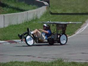 ソーラー自転車