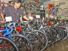 需要が高まりつつある自転車