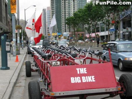 団体用自転車