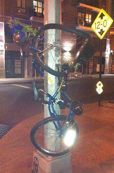 Twisted Bicycle Planter, www.bernardklevickas.com