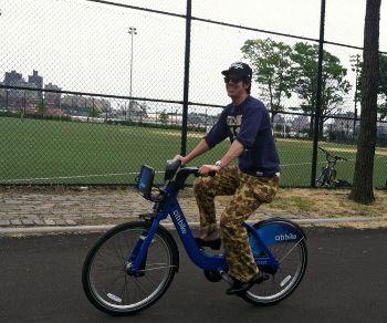 NYの「自転車シェア」