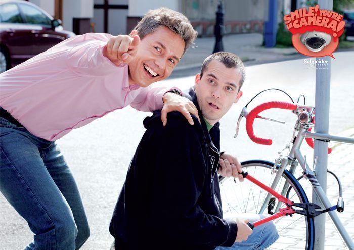Schneider Electric: Bike, adsoftheworld.com