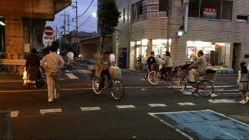 自転車事故率