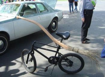 魔女の自転車