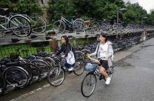台北の自転車用道路