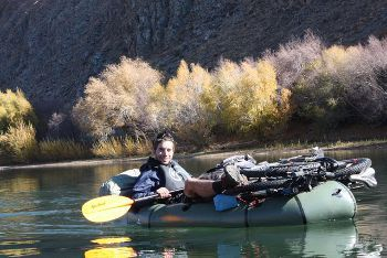 Bikerafting in Mongolia