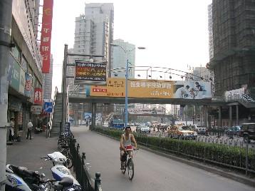 多くの自転車レーンは幅が広い