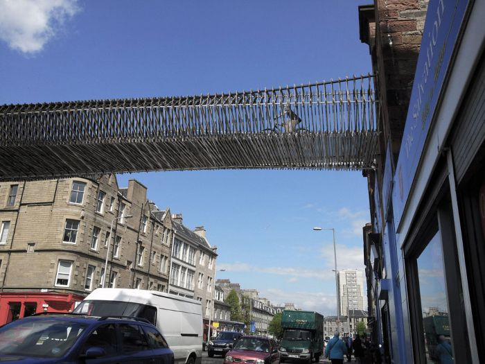 Leith Walk 'Green Bridge' biomorphis