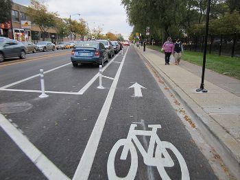 Curb-Separated Bikeways