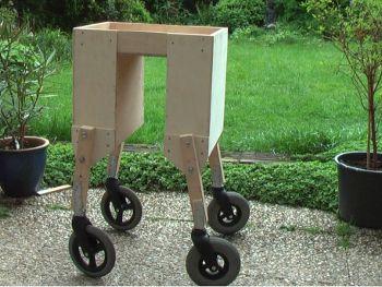 Bike - portable shopping cart