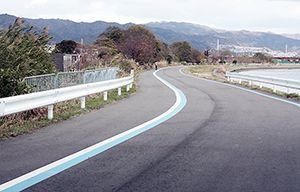 サイクリングロード計画