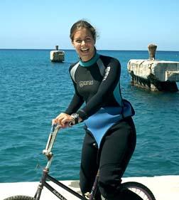 スキューバサイクリング?