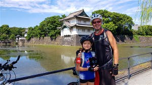cycling across Japan