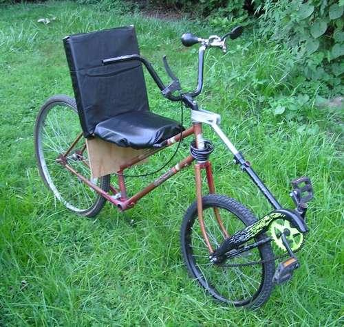 前輪駆動自転車