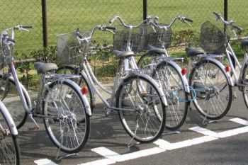 同じような自転車が