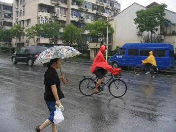 上海ではみんな着ている