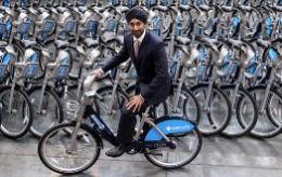 ロンドンで自転車シェア始動