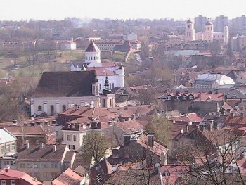Vilnius Old Town, This image is in the public domain.