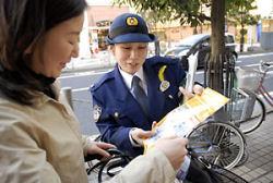 自転車利用者への啓発活動
