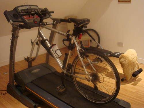 自転車トレッドミル