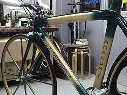 木製ロードバイク