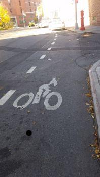 Cops in Bike Lanes
