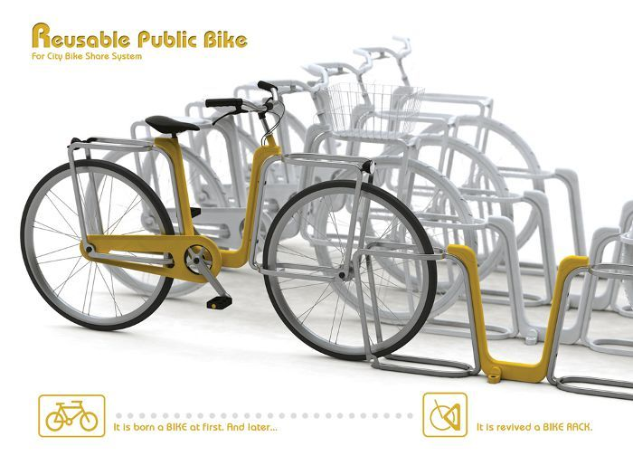 Reusable Public Bike by Yujin Kim, www.taipeicycle.com.tw