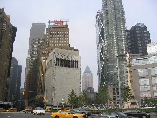 朝のニューヨーク