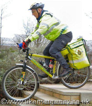 Ambulance Cycles, www.ukemergency.co.uk