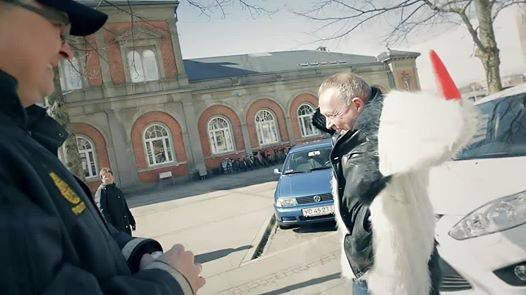 Danish police uses unexpected approach