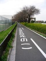 この先自転車頭上注意、危険は足元だけではない