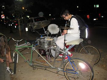 Drum bike, www.silversprocket.net