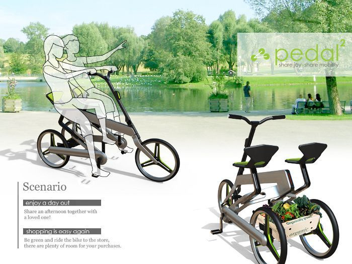 pedal squared by Chu-Wei Yang/Jade Chang, www.taipeicycle.com.tw