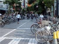放置自転車をリサイクル