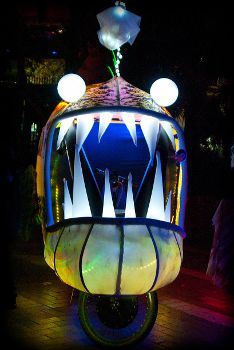 Glowing Angler Fish Bicycles, Fashion Trendy
