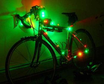 クリスマス自転車