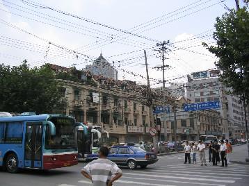 フランス租界時代の建物も残る