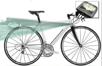 自転車版リアビューモニター