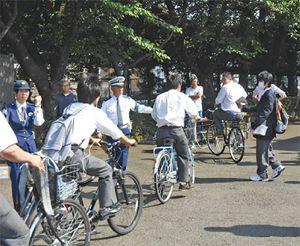 違反自転車に講習義務