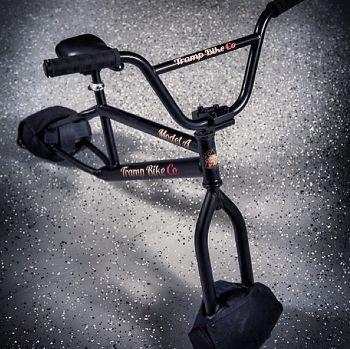 Trampoline bike