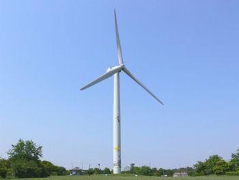 風力発電の風車