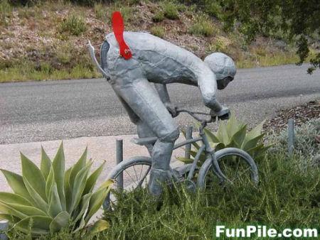 自転車ポスト