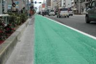 自転車レーン効果検証