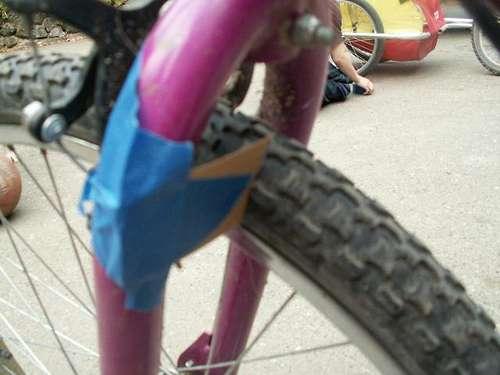 自転車テェーンソー