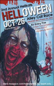 Halloween Alleycat Race