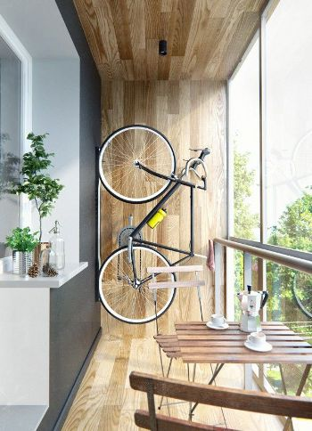 vertical bicycle rack